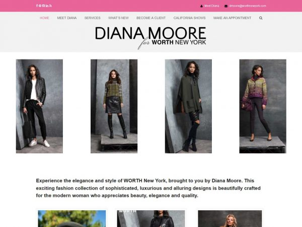 Diana Moore For WORTH New York