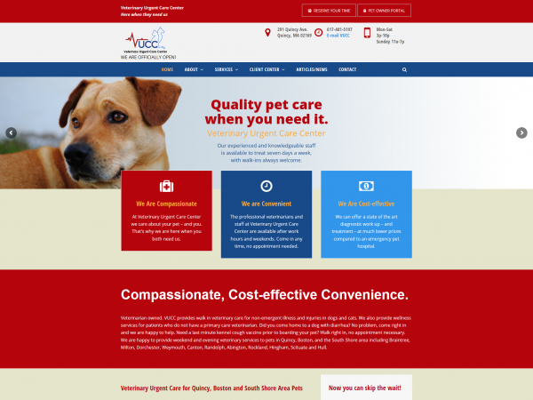 Veterinary Urgent Care Center