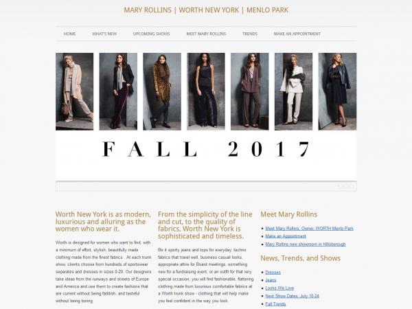 Mary Rollins | WORTH New York